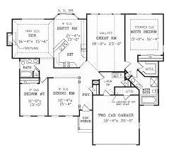 split bedroom house plans floor plan living room split bedroom floor plans plan with car