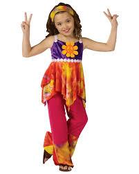 70s Halloween Costume Ideas Child Tie Dye Hippie Costume 60 U0027s Costumes Girls Costumes