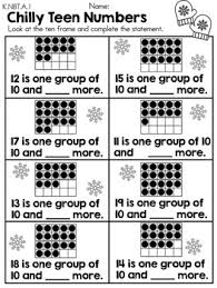 kindergarten winter math worksheets common core aligned by