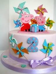 peppa pig cake bendita gula pinterest cake