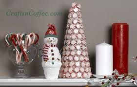 Candy Decorations For Christmas Tree by How To Make Sparkling Peppermint Candy Trees Crafts U0027n Coffee