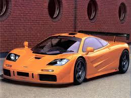 orange mclaren rear f1