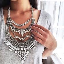 big statement necklace images Jewels t shirt silver gold big necklace pearl diamonds jpg