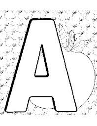 the letter a coloring page 82 best coloring pages for the kids images on pinterest drawings