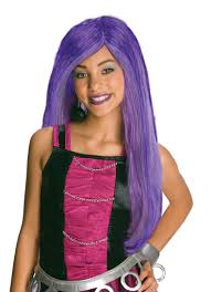 Monster High Halloween Costumes Girls Monster High Abbey Bominable Child Halloween Costume Wig Walmart Com