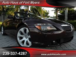 nissan altima for sale fort myers 2006 bmw 650i convertible ft myers fl for sale in fort myers fl