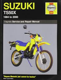 suzuki ts 50x 1984 99 service and repair manual haynes service