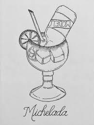 cocktail sketch cinco de mayo cocktail big batch micheladas u2014 be like family