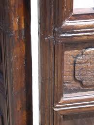 carved wood room divider 7ft tall antique solid carved elm 4 part screen room divider c1890