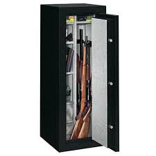 black friday deals on gun cabinets stack on 14 gun fire resistant security safe with electronic lock fs