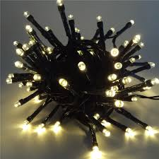 Solar Powered Tree Lights - 12m solar powered led string lights waterproof decorative copper
