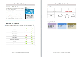 convert pdf to word cutepdf pro convert pdf to word with tables graphics and images preserved