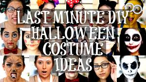 last minute diy halloween costume ideas beautyybird youtube