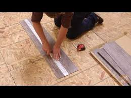 How To Lay Laminate Flooring Youtube - how to install allure isocore vinyl flooring youtube basement