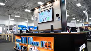 home tech best buy giving amazon and google store space to show smart home