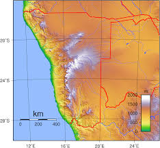 angola physical map atlas angola temperature map