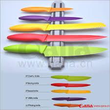kitchen knives stainless steel non stick coloured kitchen knife set