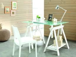 bureau en verre blanc bureau en verre blanc maxim bureau en verre noir ou blanc bureau
