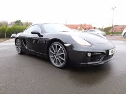 used porsche cayman coupe 2 7 981 black edition pdk 2dr in county