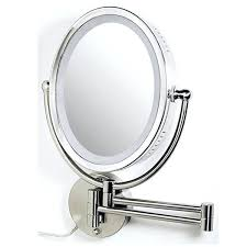 lighted magnifying makeup mirror lighted wall mounted magnifying makeup mirror wall mounted lighted