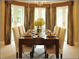Dining Room Bay Window Curtains Curtains  Home Design Ideas - Dining room with bay window