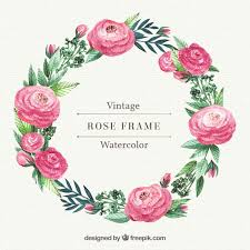 flower wreath wreath vectors photos and psd files free