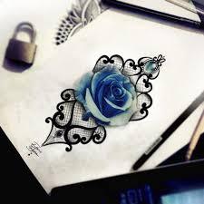 drawn diamonds rose pencil and in color drawn diamonds rose