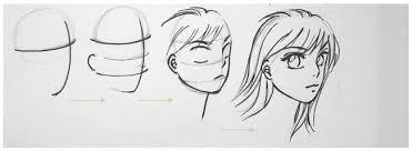 tutorial menggambar orang dengan pensil tehnik dasar menggambar karakter manusia anime
