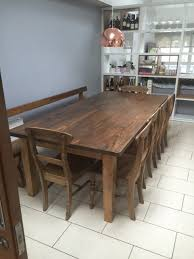 Handmade Kitchen Table by Bespoke Home Office Furniture Solid Wood Furniture