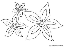 fiori disegni fiori stilizzati da colorare disegni da colorare