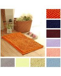 tappeto in microfibra tappeto shaggy da bagno e antiscivolo in morbida microfibra