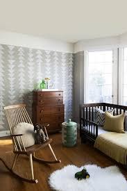 tendance chambre enfant papier peint géométrique la tendance qui conquit nos intérieurs