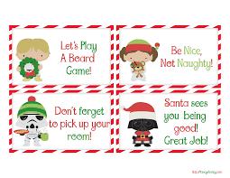 free printable elf notes from santa fancy shanty