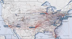 Star Alliance Route Map Flight Map Us To Europe United Continental Domestic Route Map