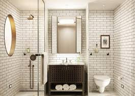 bathroom ideas subway tile subway tiles in 20 contemporary bathroom design ideas rilane