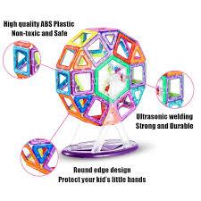 amazon com imden magnetic blocks magnetic building set magnetic