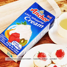 an excellent baking ingredients imported whipping cream whipped