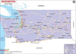 map of oregon freeways washington road map washington state highway map
