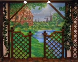 wall decorations in the irish pub denver custom wall murals wall murals were made by
