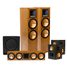 home theater wireless speakers rf 7 ii home theater system klipsch speakers pinterest