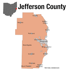 Ohio Map Counties by In Once Thriving Jefferson County Voters Look To Donald Trump For