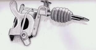 tattoo gun sketch tattoo machine sketch by villecruz on deviantart