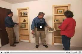 How To Make A Secret Bookcase Door How To Turn Closet Door Into Bookcase Stashvault