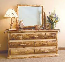 bedroom best cheap log bedroom furniture sets with shade lamp