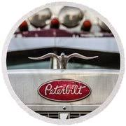 peterbilt logo and ornament photograph by lemmons powers