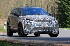 land rover track spied u2013 upsized range rover evoque testing in europe photo u0026 image