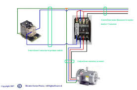 wiring diagram wiring diagram for motor starter 3 phase with 1