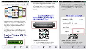 how to instal apk files on android tutuapp android tutuapp