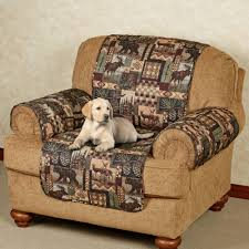 sofa and love seat covers lodge quilted microfiber pet furniture covers