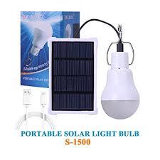 indoor solar lights amazon amazon com kk bol solar l portable led light bulb solar panel